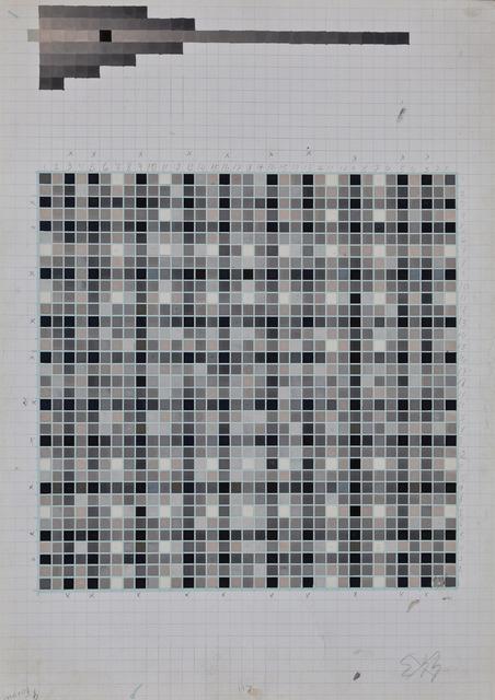 , 'Cuadrados Ritmicos, # 554-443,' 1961, KaBe Contemporary
