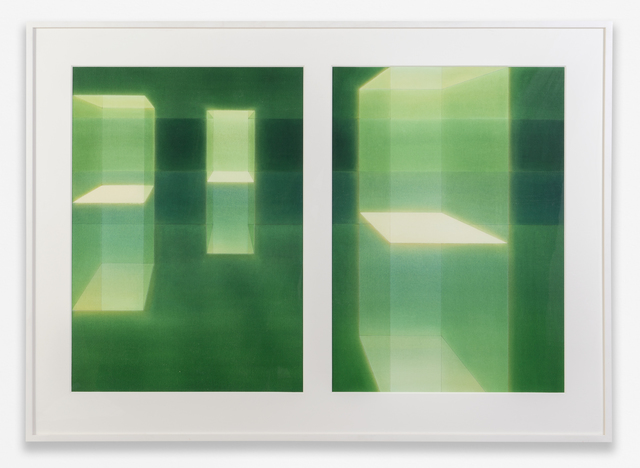 , 'uspended in Green 1a and 1b,' 2005, TOTAH
