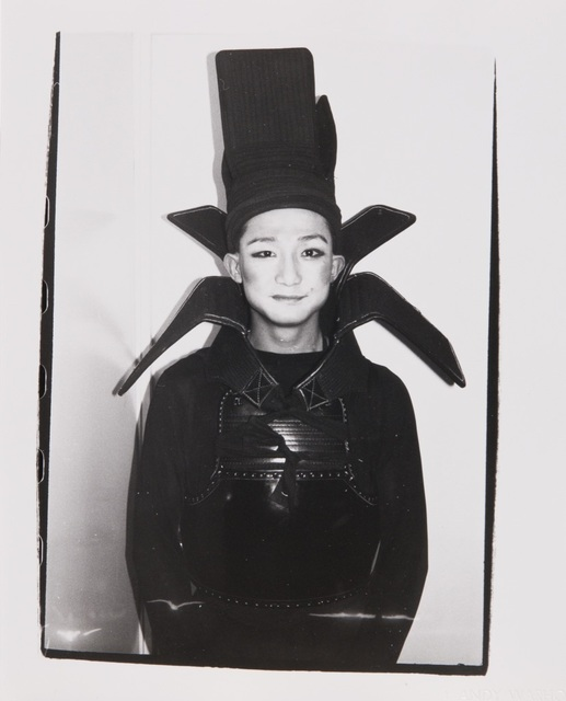 Andy Warhol, 'Andy Warhol Photograph of Benjamin Liu (Ming Vase)', Hedges Projects