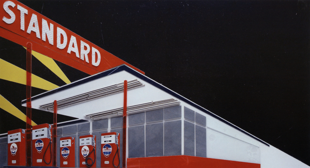 , 'Standard at night, After Ruscha(from pictures  Of cars),' 2008, Zemack Contemporary Art