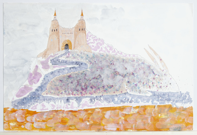 Wael Shawky, 'Cabaret Crusades Drawing #302', 2018, Lia Rumma