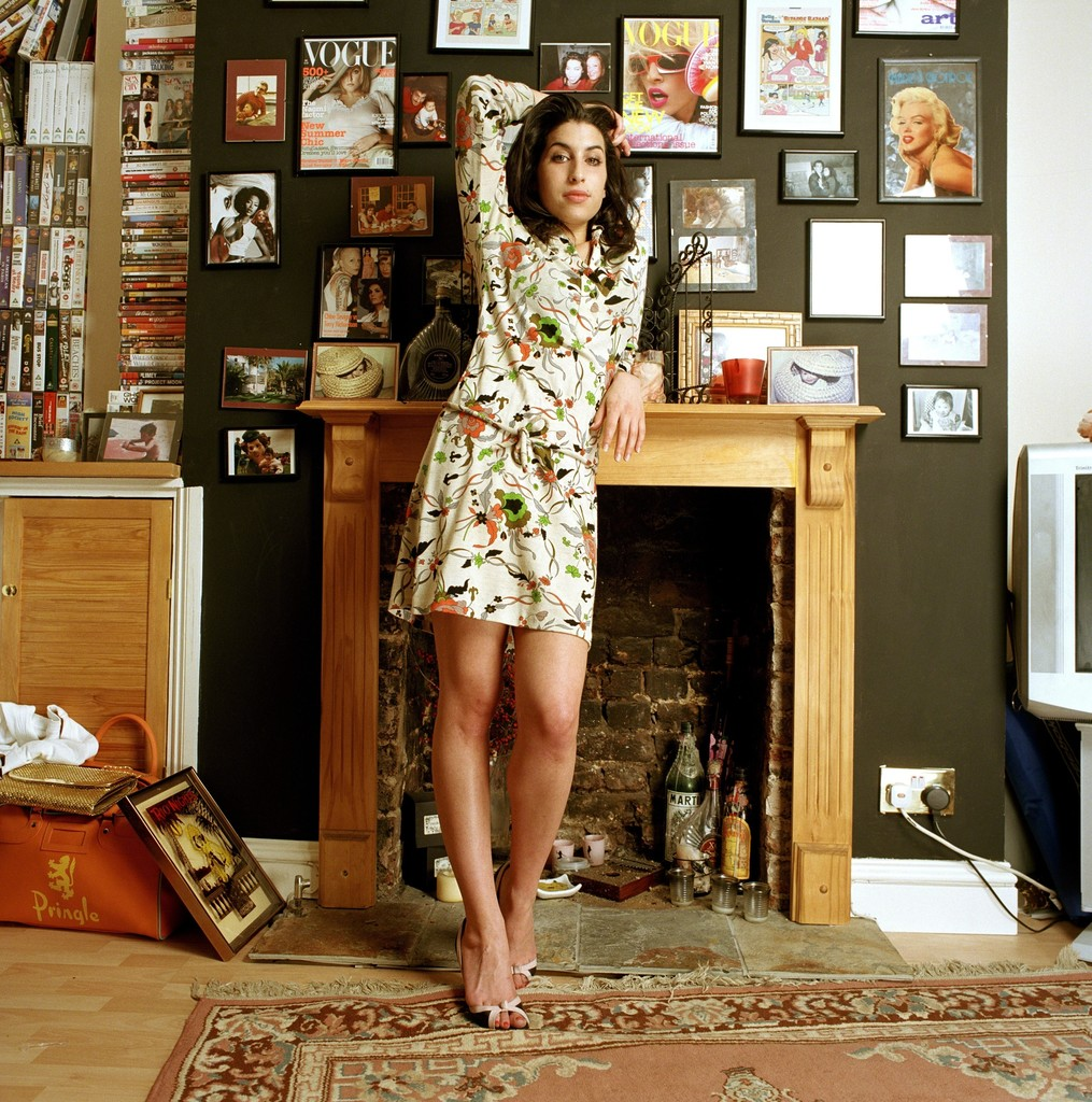 Amy at her home in Camden town