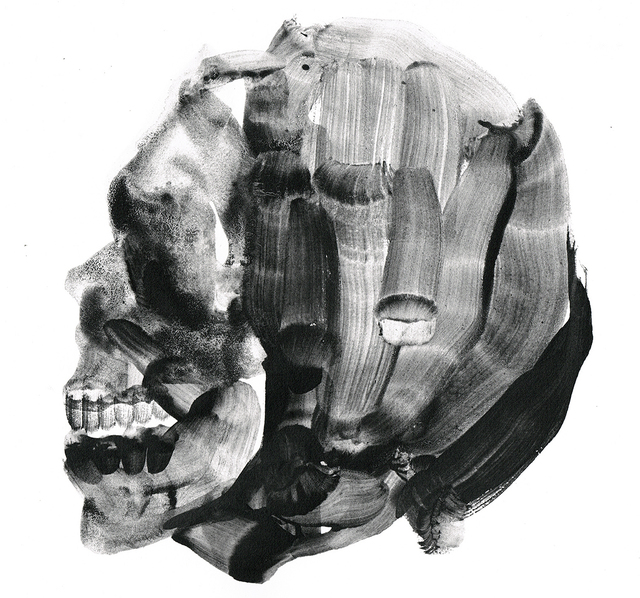, 'Untitled (Skull),' 2018, Pepita Lumier