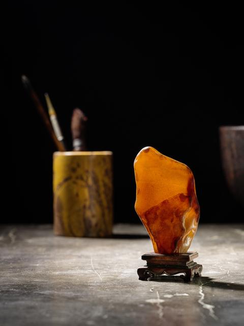 , 'A russet agate pebble 帶皮瑪瑙賞石,' , Rasti Chinese Art