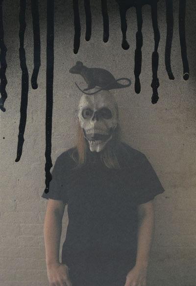 Hanna Liden, 'Self-Portrait with Rat', 2010, LAND: Los Angeles Nomadic Division