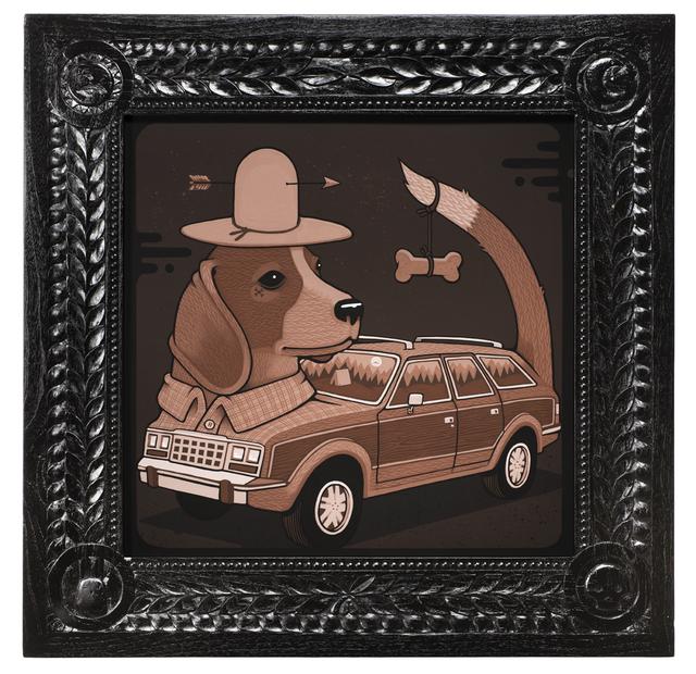 , '1986 AMC Beagle,' 2017, Jonathan LeVine Projects