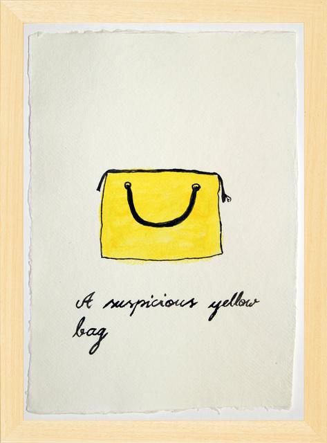 , 'Suspicious Bags: Yellow Bag,' 2018, Temnikova & Kasela