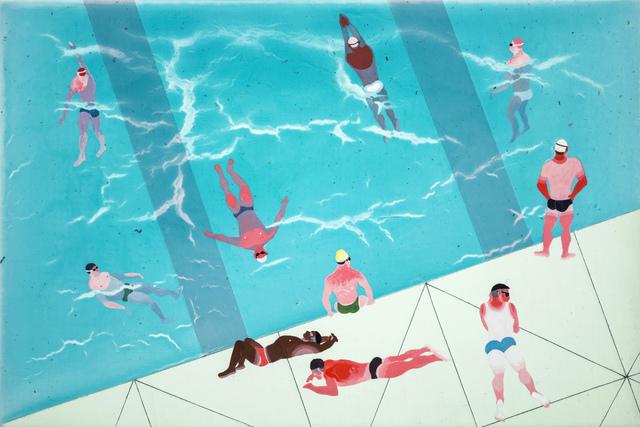 , 'Tiny Swimming Pool 3,' 2018, Aki Gallery