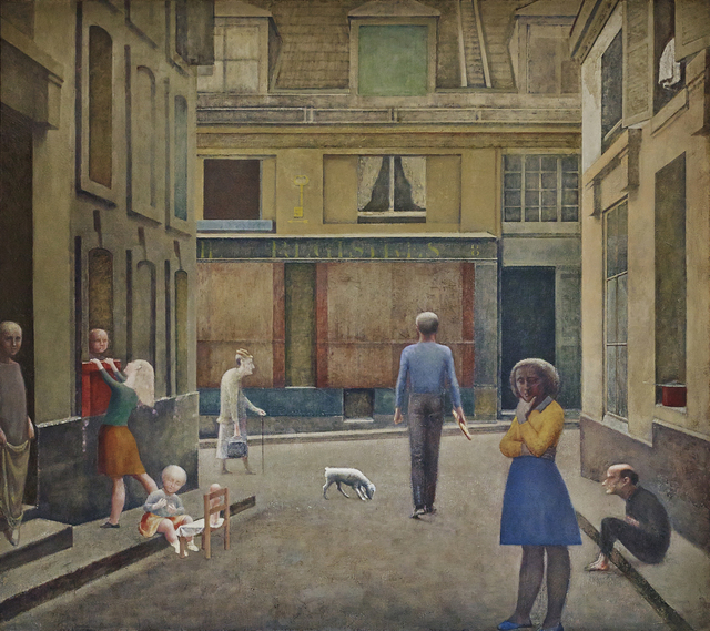 , 'Passage du Commerce-Saint-André,' 1952-1954, Fondation Beyeler