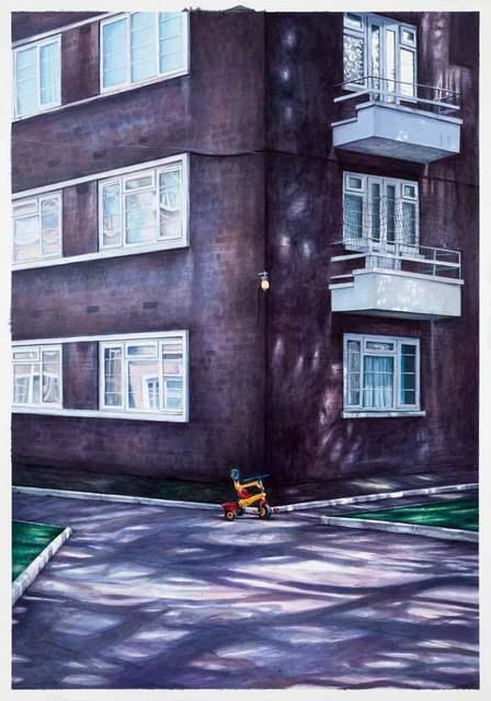 , 'Cazenove Road,' 2015, Lazinc