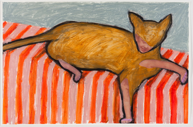 Karen Gibbons, 'Chesire Clive With Stripes', 2014, 440 Gallery