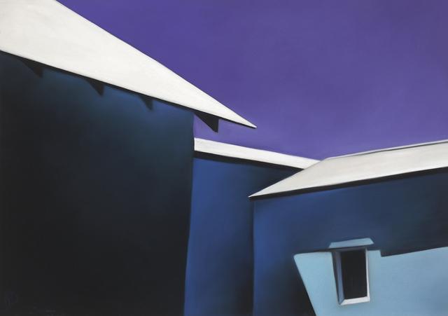 , 'Ojo Blue Walls White Roofs 19-01,' 2019, Ventana Fine Art