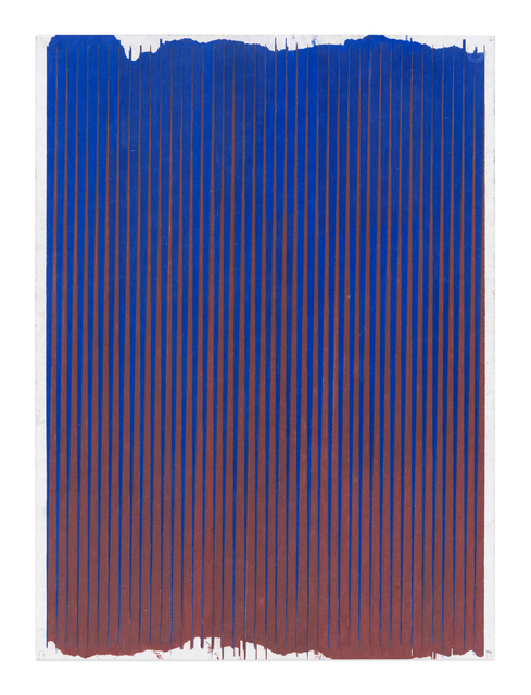 , 'Lonely Planet (Ultramarine / Chestnut),' 2016-2017, Gavlak