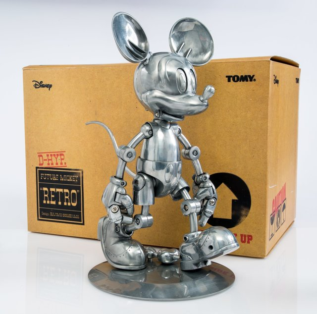 Hajime Sorayama, 'Future Mickey Retro', 2005, Sculpture, Zinc alloy, Heritage Auctions