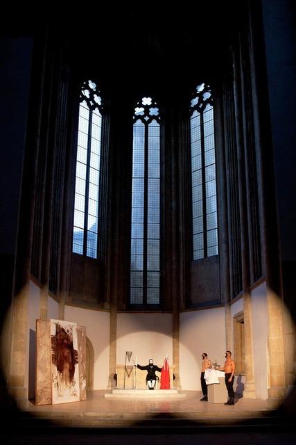 , 'La custodia del sangue nella giostra dei tori,' 2012, GALLERIA BIANCONI