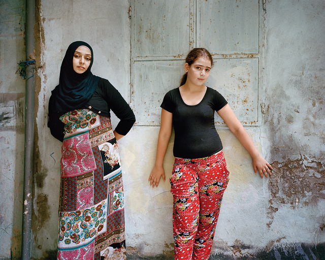Rania Matar, 'Nisreen and Ola, Bourj El Barajneh Refugee Camp, Beirut Lebanon', 2015, East Wing