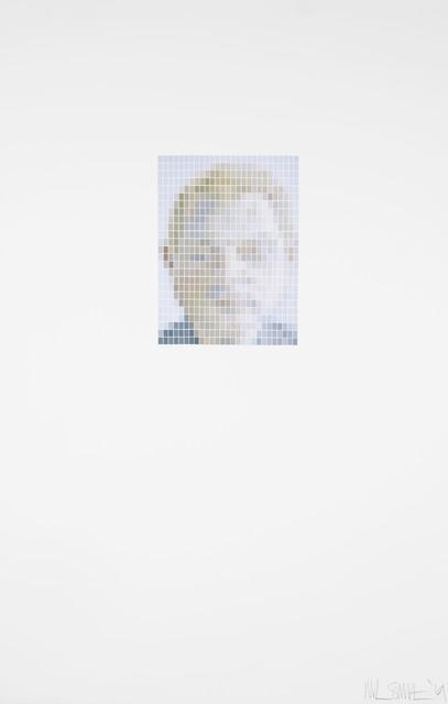 , 'Lucian Freud - Francis Bacon portrait - (Microchip),' 2019, Rhodes
