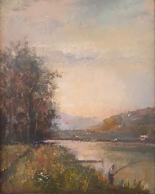 , 'Delaware River Evening,' 2004, Madelyn Jordon Fine Art