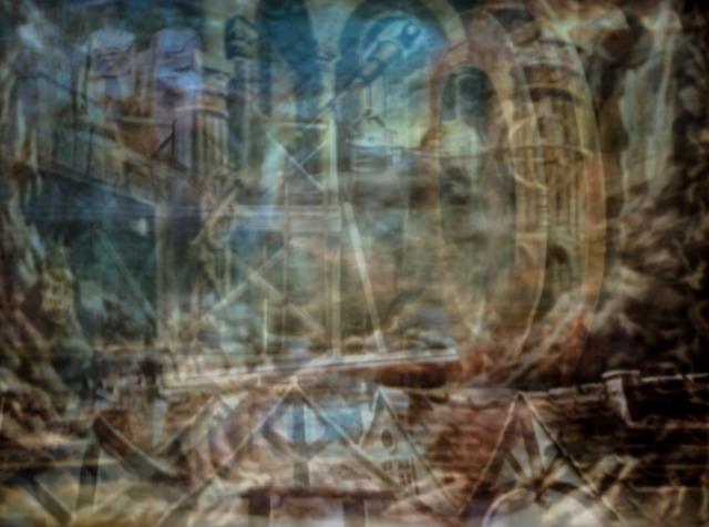 , 'Voyage de La Lune (1902),' 2017, Cob