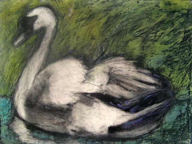 , 'Swan Stance,' 2014, Zenith Gallery