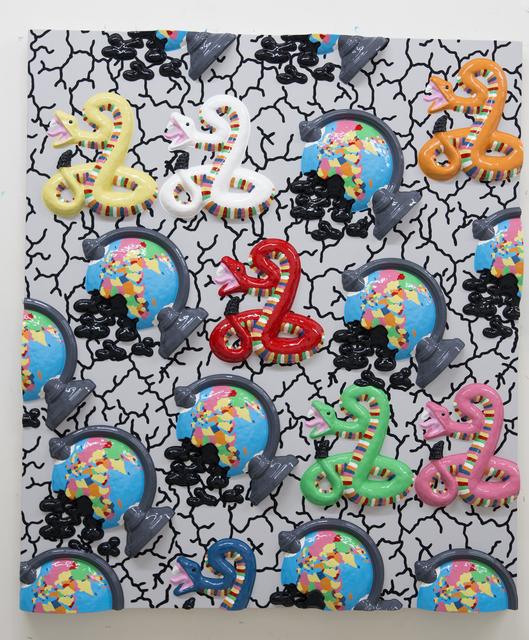 , 'Seven Snakes,' 2016, Dio Horia