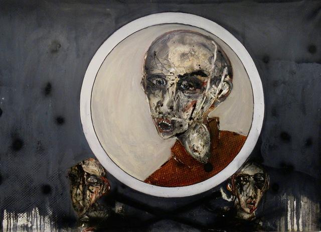 Jean Schmiedel, 'Kopf im Kreis', 2010, Georges Berges Gallery