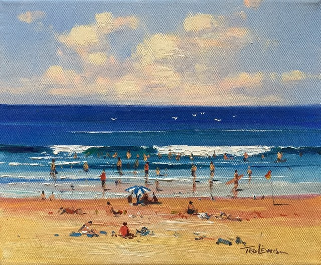 Ted Lewis, 'At the Beach', 2014, Wentworth Galleries