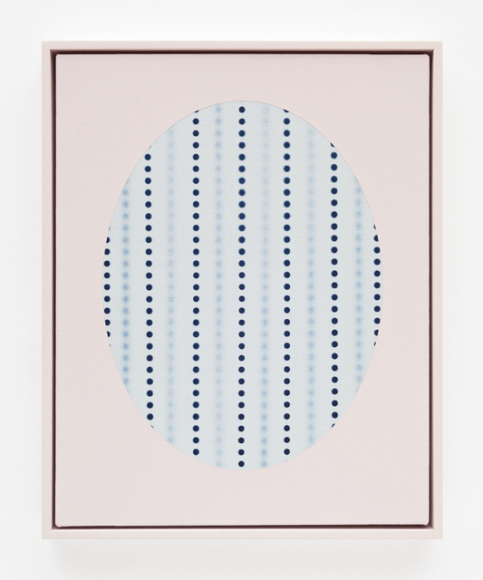 , 'Oval with dots (Blue),' 2018, DOCUMENT