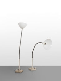 A pair of floor lamps  '1051' model
