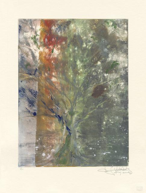Makoto Fujimura, 'Van Nuys Monotype Series No. 4 凡奈斯絹印單刷系列', 2017, Artrue Gallery