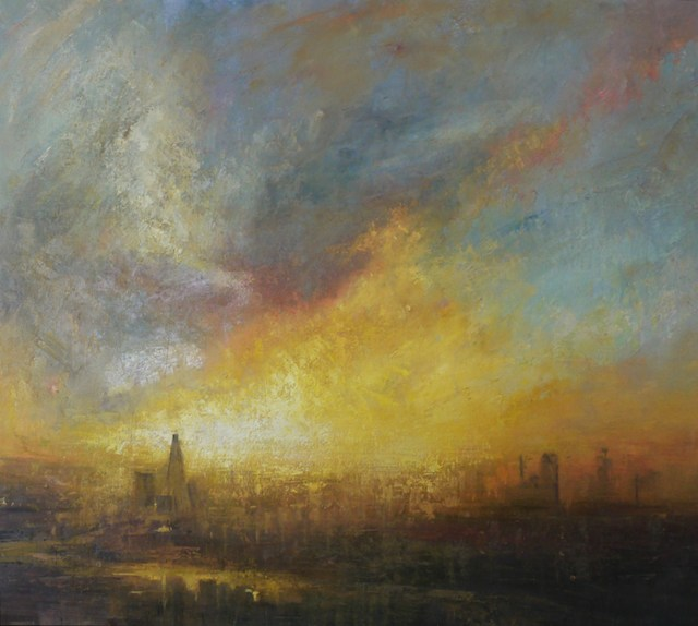 , 'Sunset, Shard,' 2016, Tanya Baxter Contemporary