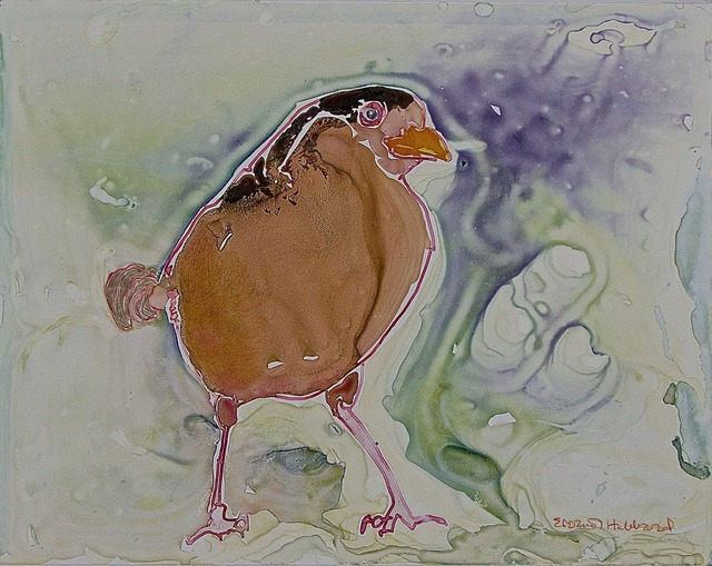 , 'Wet Sparrow,' 2009, Walter Wickiser Gallery
