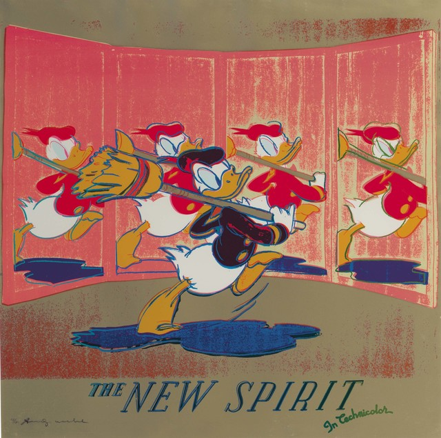 Andy Warhol, 'The New Spirit (Donald Duck), from Ads', 1985, Christie's