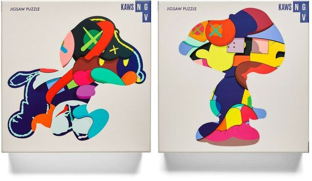 KAWS, 'Stay Steady & No One's Home ', 2019, Print, Digital Print on 1000 PC Puzzle, End to End Gallery