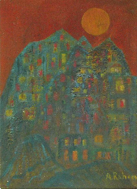 , 'Ciudad azul,' 1955, Oscar Roman