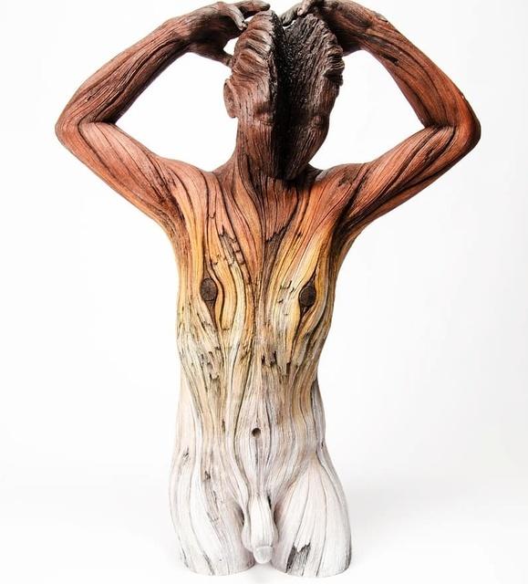 , 'Split,' 2017, Habatat Galleries