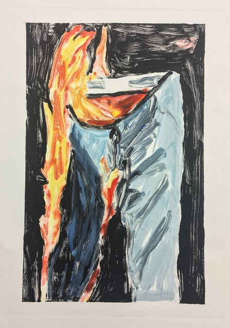 , 'Untitled (Pants on Fire),' 2017, Cross Contemporary Art