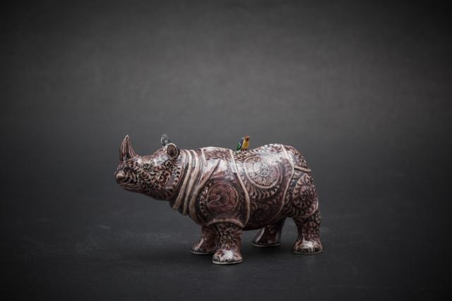 , '20. Small Rhino (purple),' 2017, Sladmore Contemporary