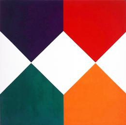 , 'weisse durchdringung,' 1970, Lorenzelli arte