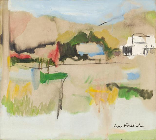 Jane Freilicher, 'Landscape in Water Mill', 1962, Kasmin