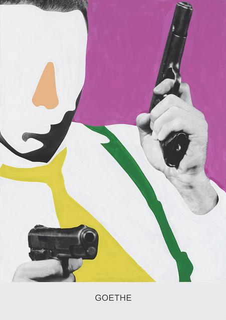 , 'GOETHE,' 2015, Mai 36 Galerie