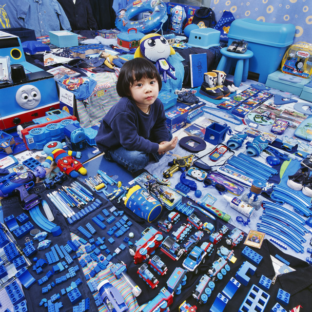 , 'Jimin and His Blue Things,' 2007, Rosier Gallery