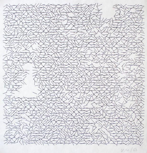 Vera Molnar, 'Interruptions', 1968, Senior & Shopmaker Gallery