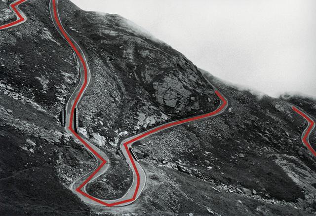 , 'The Line, Passo del Nivolet,' 2013, Galerie Jordanow