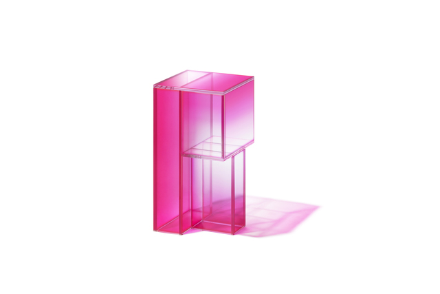 Studio BUZAO, 'NULL Hot Pink Side Shelf', 2020, Design/Decorative Art, Laminated Glass, Gallery ALL