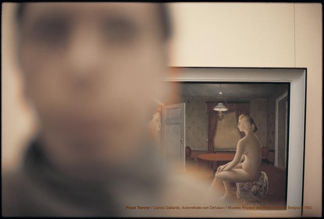 , 'Pixel Terror, Autorretrato con Delvaux,' 1982, Isabel Croxatto Galería