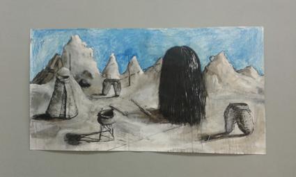 , 'Kapadokya 1600 bc, Lady with Turtle,' 2013, Charim Galerie