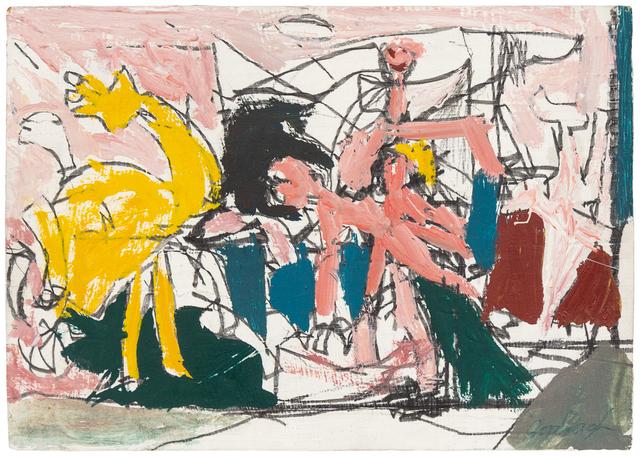 Robert Goodnough, 'Abduction XII', 1961, Hindman