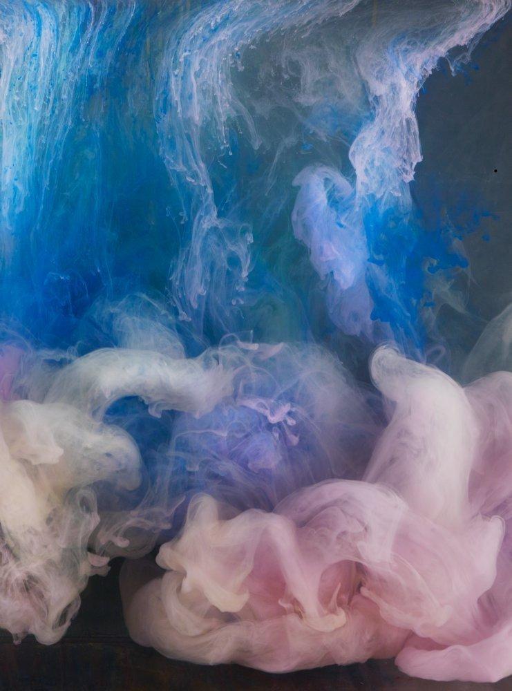 Kim Keever, 'Abstract 8585c,' 2014, Heather Gaudio Fine Art