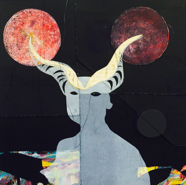 , 'Irkalla and the Double Lunar Eclipse,' 2017, Deep Space Gallery